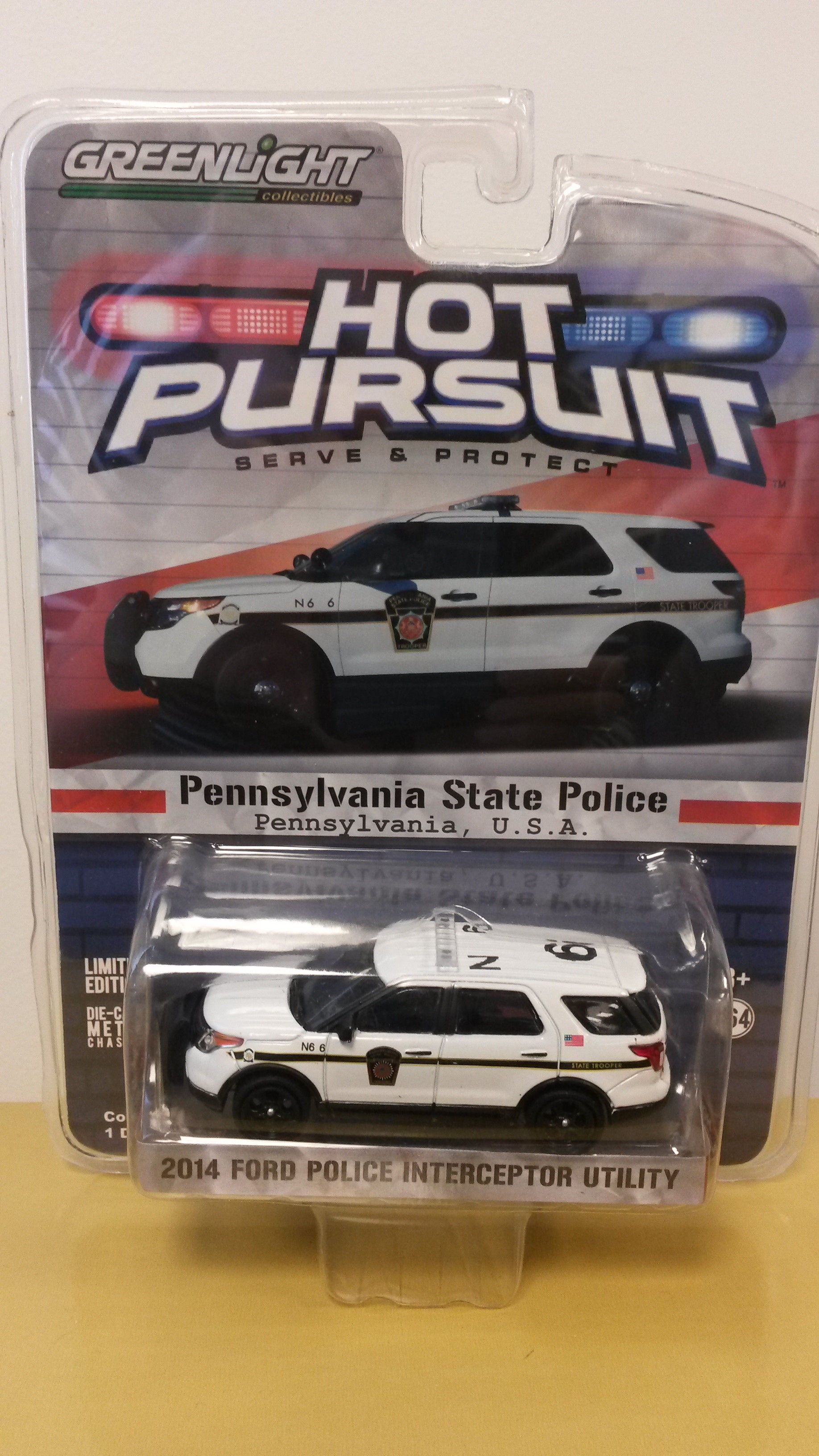 1//43 scale PA State Police 110th Anniversary Edition-Ford Sedan Interceptor